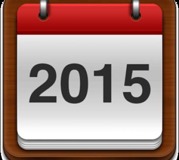 Calendar competitional 2015
