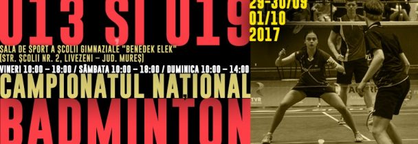Campionatul National U13 si U19