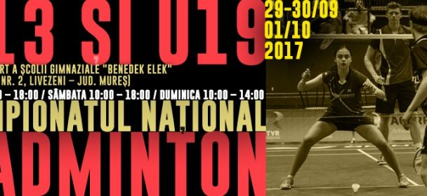 Campionatul National U13 si U19