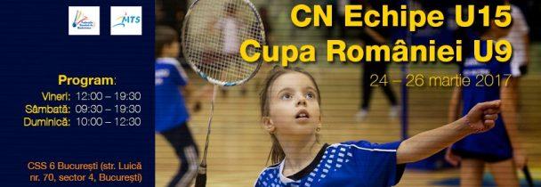 Campionatul National pe Echipe U15 si Cupa Romaniei U9
