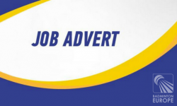 Job vacant Badminton Europe