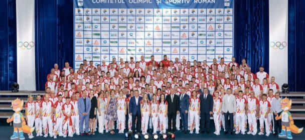 Echipa Olimpica a Romaniei care va participa la JE MINSK 2019 a fost prezentata oficial la Izvorani